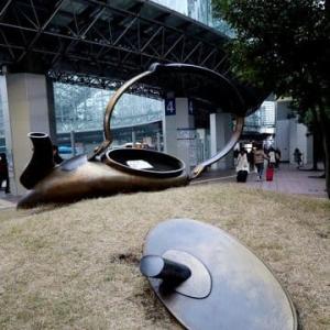 ★金沢街歩き・駅前にやかん