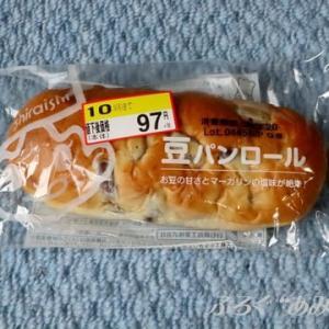 ★【東北便利商店美食】[シライシパン]豆パンロール