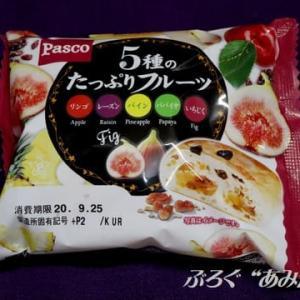 ★【便利商店麺麭】5種のたっぷりフルーツ byパスコ