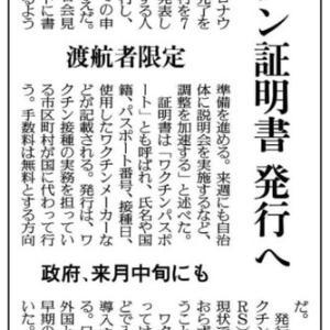 ★新聞から……新コロ関連とつきぢ田村