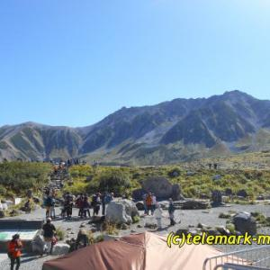 立山、奥大日岳、2泊3日テントの旅(子供と一緒に山登り)