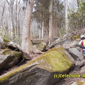 3月、蓬田岳@平田村(親子でハイキング)