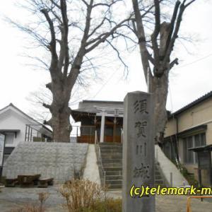 春の須賀川城址・二階堂神社を散策したよ