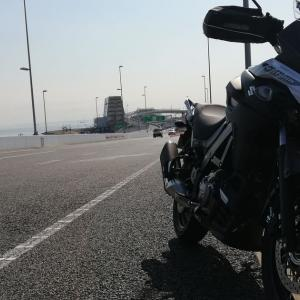 バイクと車中泊!