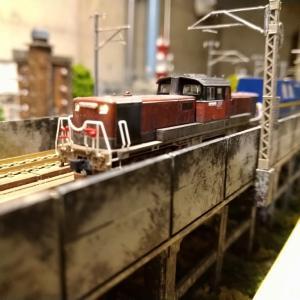 各タイプ勢ぞろい!DD51のライト改造を見比べてみよう!