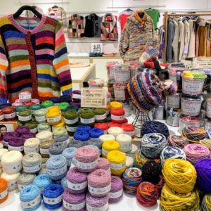 編みたくなる糸♡ 身につけて幸せなニット。