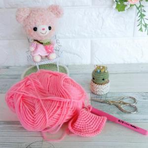 毛糸の持ち味を生かした編み方であみぐるみを作りたい!