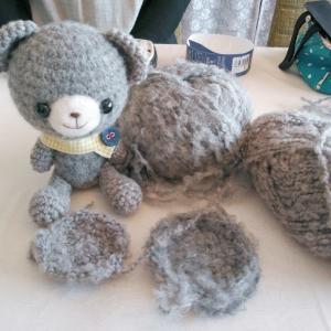 モコモコ毛糸を編めるようになるためには小さいことは気にしない(笑)