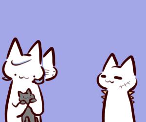 私「ガルマに似てるね」 夫「猫ちゃんはギレン」 猫「ニャー」 夫「妻ちゃんは……」