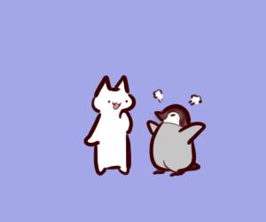私「今日もペンギンだね」 旦那「人扱いされない…(´・ω・`)」