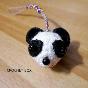 minne(ミンネ)さんより編みぐるみ♡パンダさんさんのストラップをお買い上げ頂きました。