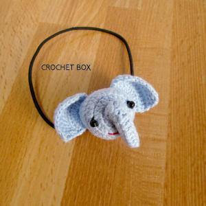 はこギャラリーさんより編みぐるみのゾウさんのヘアゴムをお買い上げ頂きました。