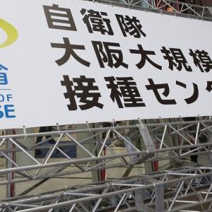 めーちゃん、大阪でワクチンを打つ