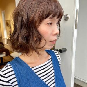 秋髪 大人髪 ミセスヘア