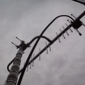 今日1番は、広島県廿日市市へ地デジローチャンネル八木式アンテナ工事にお伺いしました~(^^♪