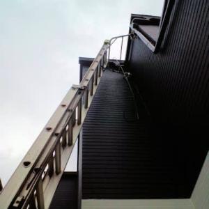 今日は、広島市安佐北区へ地デジBS4K8Kオールブラックアンテナ工事にお伺いしました~(^^♪