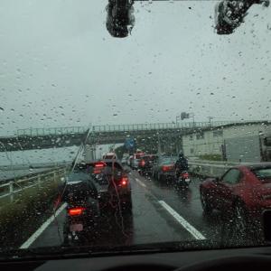 今日は、広島市西区へ地デジBSCS2K4K8Kアンテナ工事の予定でしたが・・・・