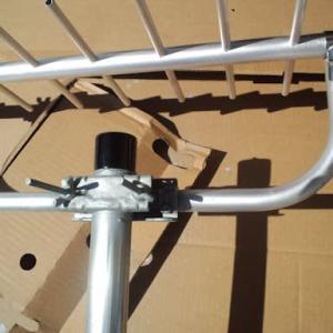 今日は、広島市安芸区へ片流れ屋根へ地デジ八木式BSCS2K4K8Kアンテナ工事にお伺いしました~(^^♪