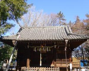板橋区の神社で屋根工事