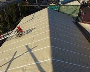 板橋区の赤塚で、瓦取り替え工事
