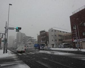 関東地方、4年ぶりの大雪!!