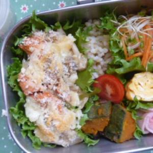 鮭のグラタンお弁当