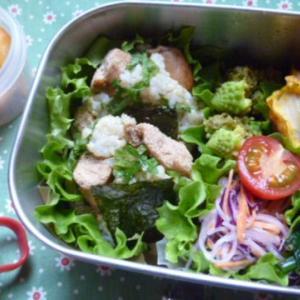 タラコと大葉おむすびのお弁当