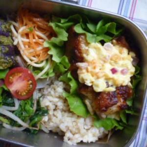 タルタルチキン竜田のお弁当