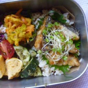 サワラの蒲焼き丼お弁当