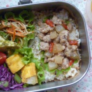 マーボー大根のお弁当