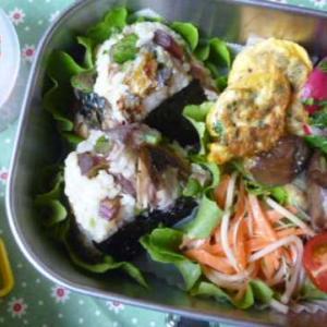 サバと大根葉のおむすびお弁当