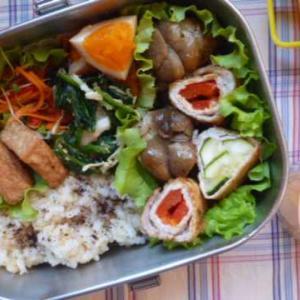 いろいろ野菜の肉巻きお弁当