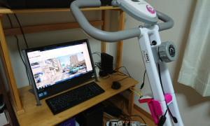 エアロバイクでストリートビューの旅 山陽vs山陰 7