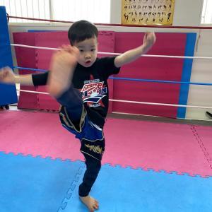 親子キックボクシングクラス