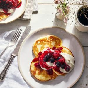 世界一軽いパンケーキのレシピ/ The Lightest Pancakes Ever!