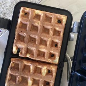 週末の朝ごはんはワッフルで/ Waffle Recipe From Tokyo