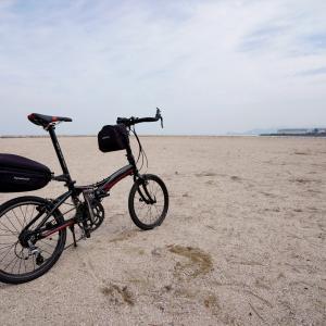 海沿いサイクリング
