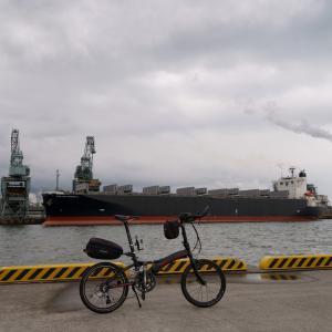 仕事終わりサイクリング