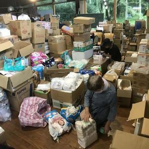 災害支援物資仕分け作業 - その後