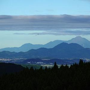 夜の熊本城が見えた日