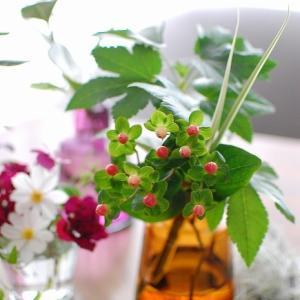 グリーンブーケ2クール目◆小粒でミルキーな色合いが可愛い♪