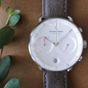 【ノードグリーン】北欧デザインの腕時計【パイオニア】