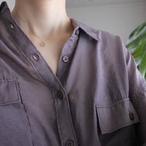トレンドのシアーシャツで着回しコーデ|透けすぎないからアラフォーでも着れる!