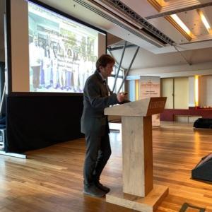 オランダの国際会議に招待講演者として出席