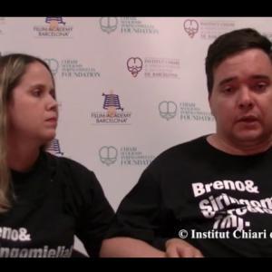 ブラジル人のブレノさん(キアリ奇形、脊髄空洞症)の最新動画体験談