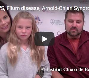 アメリカ人患者のご家族の動画体験談:キアリ奇形、脊髄空洞症、脊柱側弯症