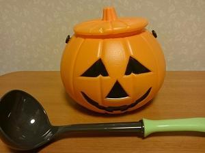 ハロウィンのかぼちゃスープ