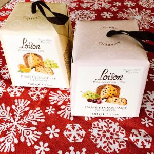 クリスマス用に2種のパネトーネ