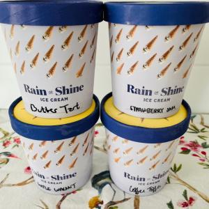限定フレーバー含むrain or shine ice cream