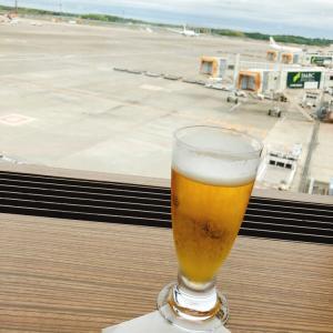 成田空港:恒例のさくらラウンジでのんびり♪